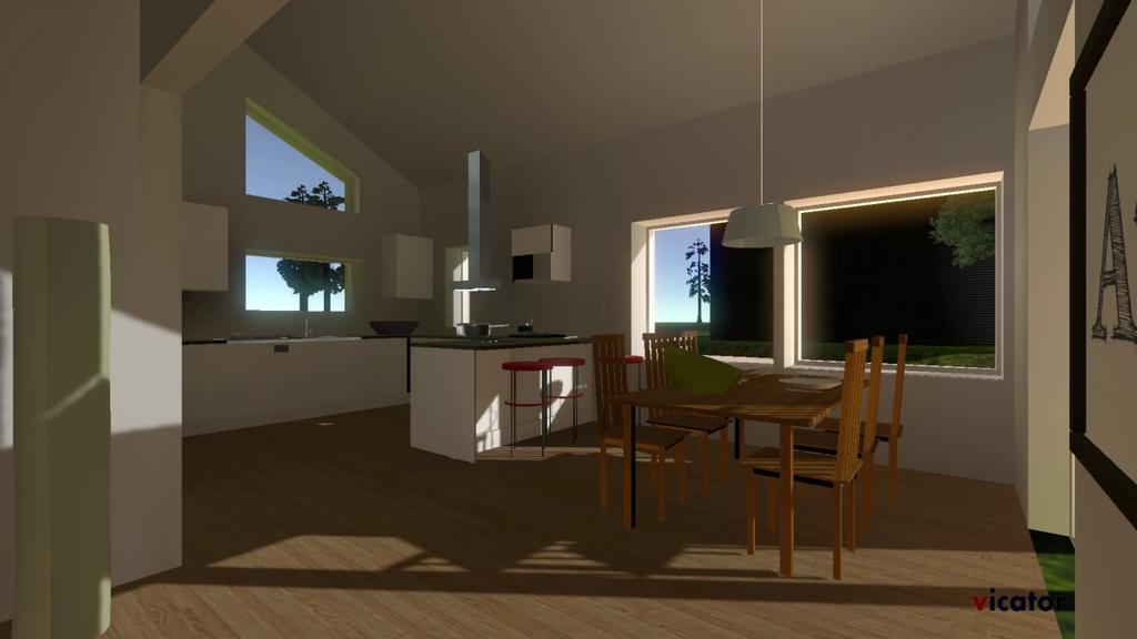 Vicator vr consultancy for Unity 3d room design